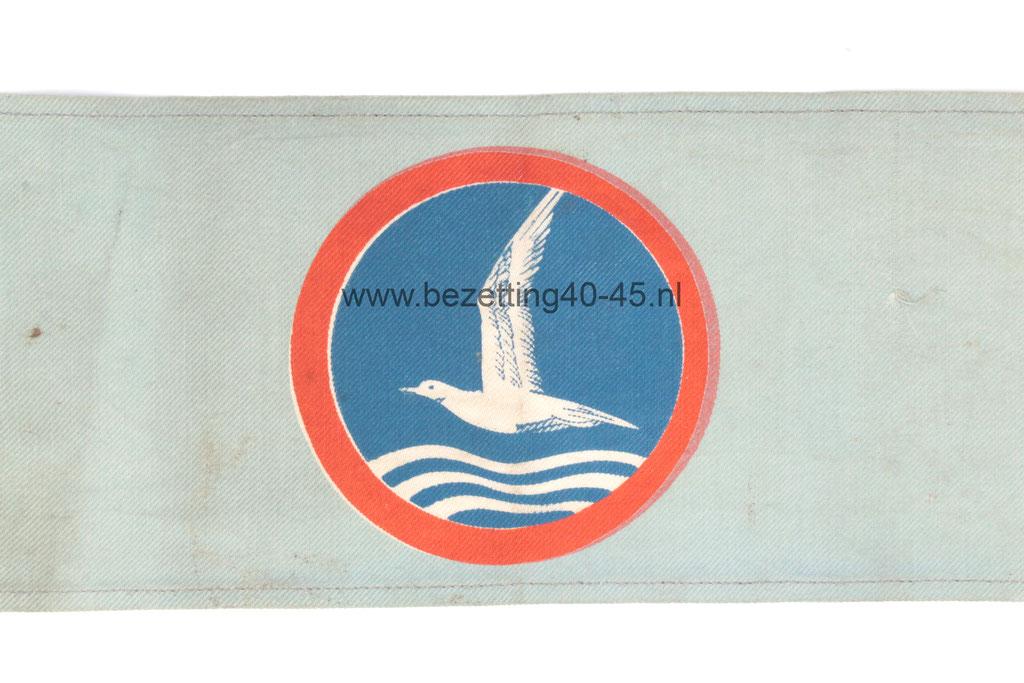 Armband Nationale Jeugdstorm, 40 x 10 cm.