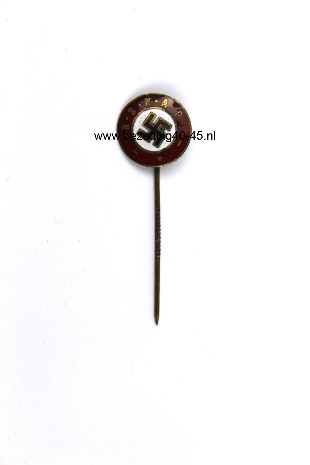 Lidmaatschap speld NSNAP  (Van Rappard) - Dutch NSNAP Badge Pin Medal.