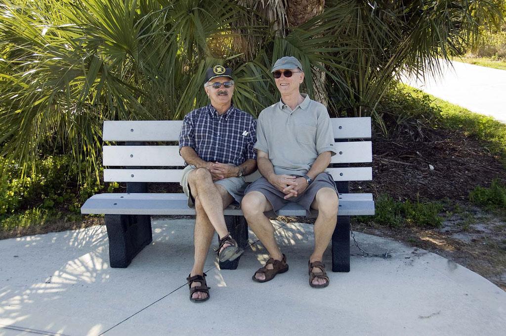 Bob und Bernhard (in Florida)