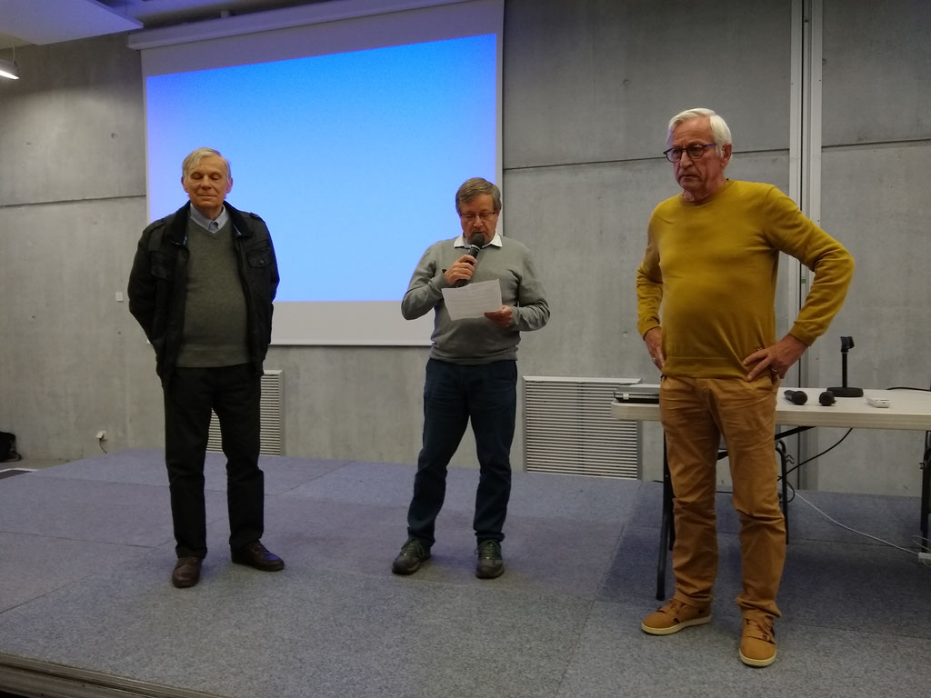 Bernard Gouteraud, Denis Bellon, Paul Girard