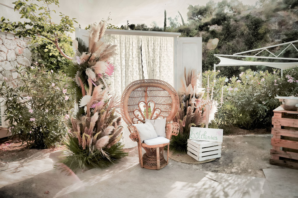© Lifetime Events Mallorca, 2019, Boho Chic Pampas Gras