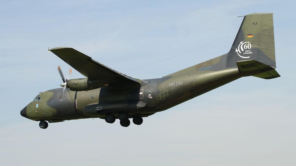 50+67 German Air Force C-160D Transall