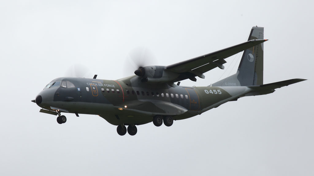 Czech Air Force Casa C-295M 0455