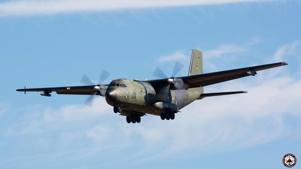 50+72 German Air Force C-160D Transall