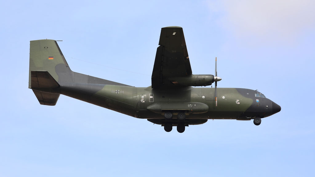 50+64 German Air Force C-160D Transall