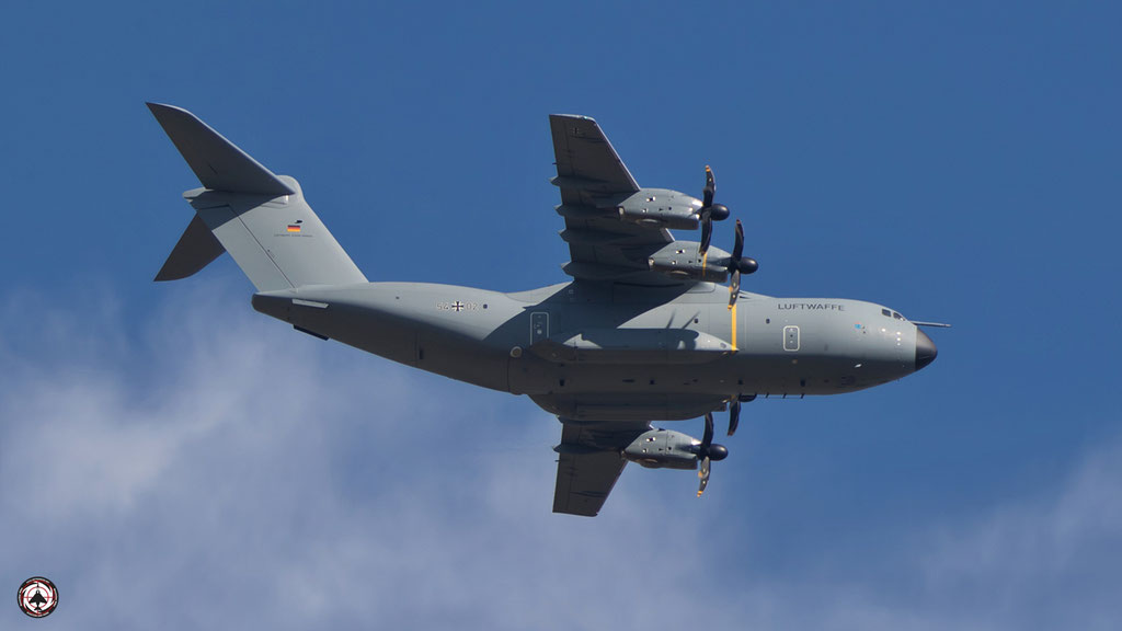 54+04 Luftwaffe  German Air Force -Airbus A400M