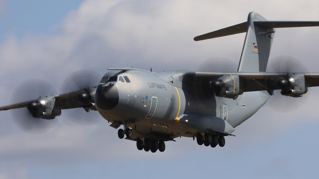 54+18 Luftwaffe  German Air Force - Airbus A400M
