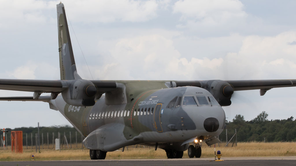 Czech Air Force Casa C-295M 0454