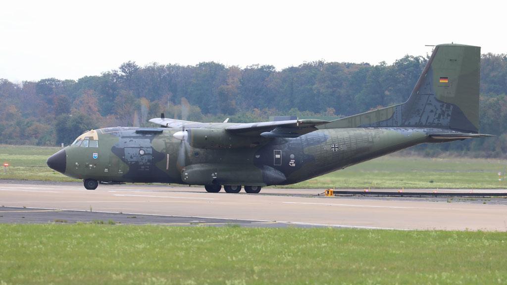50+40 German Air Force C-160D Transall