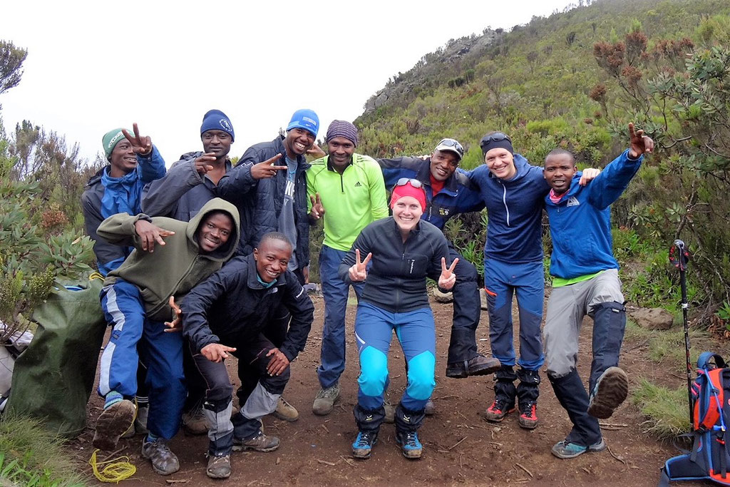 Heading Up Mount Meru - Kilimanjaro Company