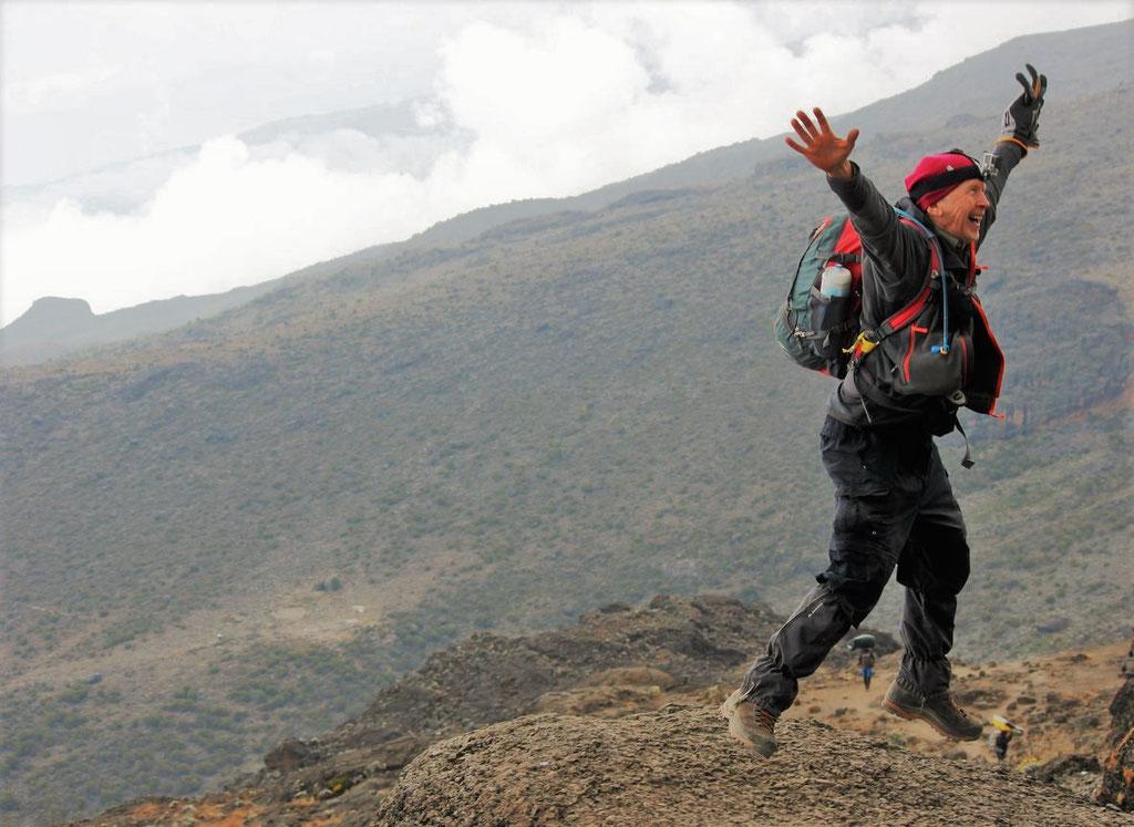 """Just Climbed The """"Breakfast Wall"""" - Kilimanjaro Company"""