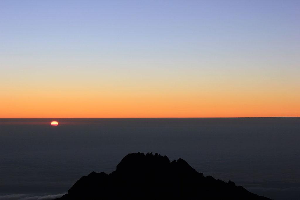 Stella Point Sonnenaufgang - Kilimanjaro Company