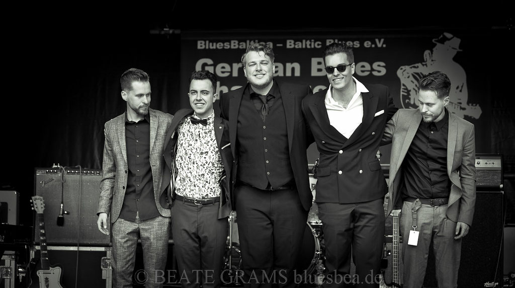 The Bluesanovas - Gewinner der GermanBluesChallenge 2019