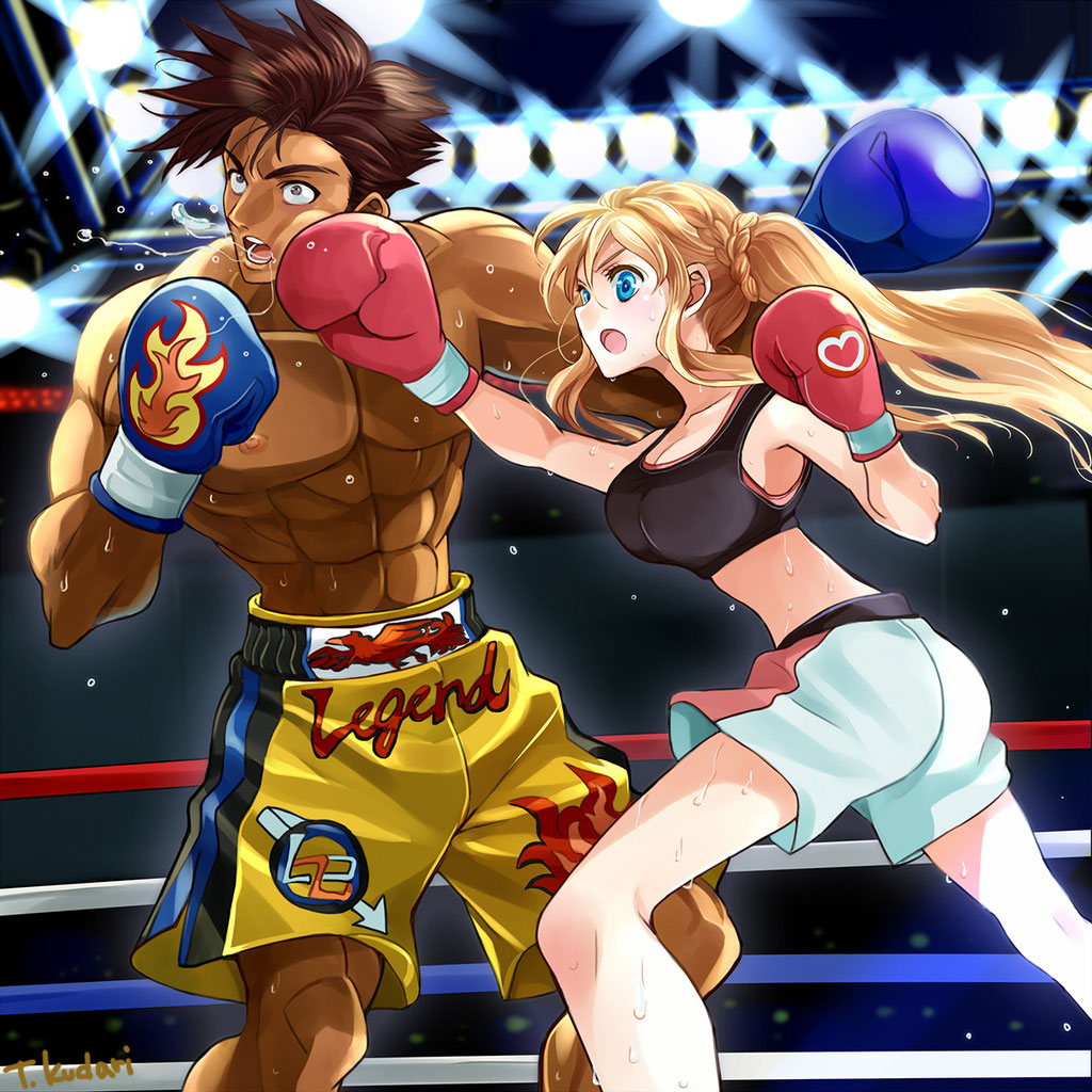 ボクシング カットイラスト