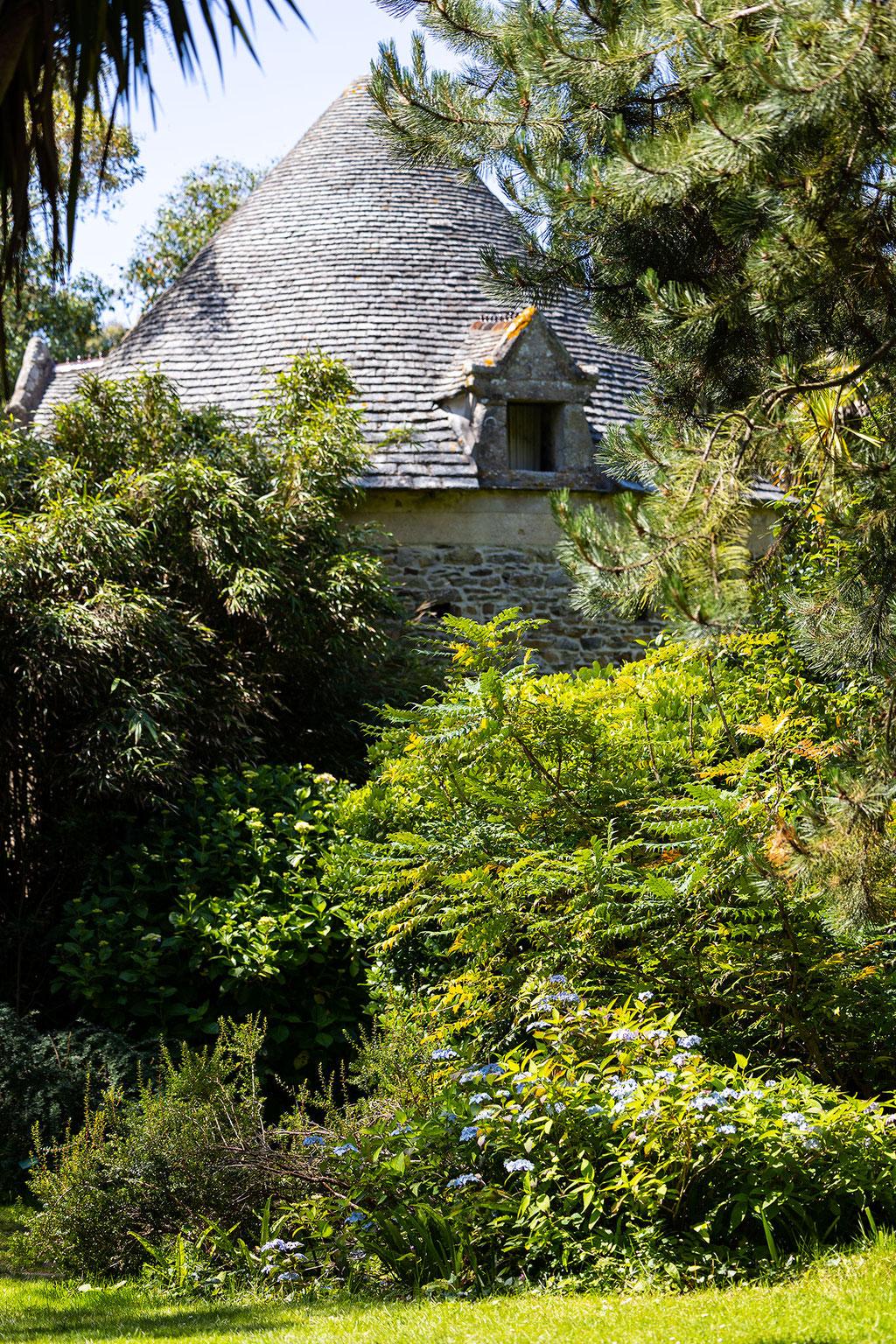 Im Jardin Botanique de Vauville wächst zusammen, was eigentlich nicht zusammen gehört – einheimische und exotische Pflanzen.