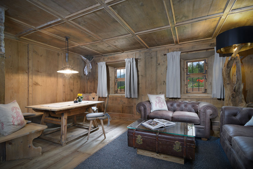 Graf Anger - Südtiroler Stube - Architektur Südtirol - Hotel&Tourismus Fotograf