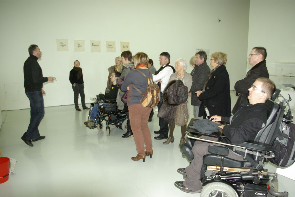 Visite au Musée d'Art Moderne de St Etienne