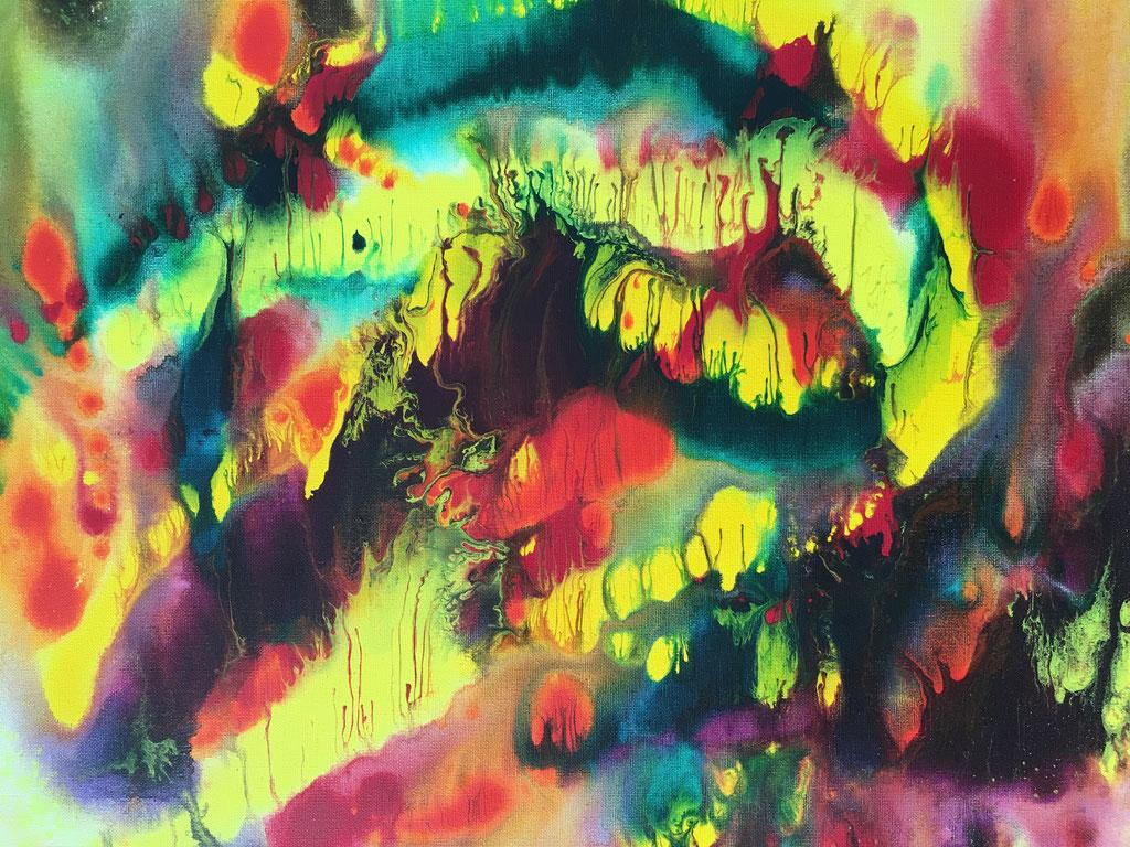 O.T., Acryl auf Leinwand, 61cmx50cm