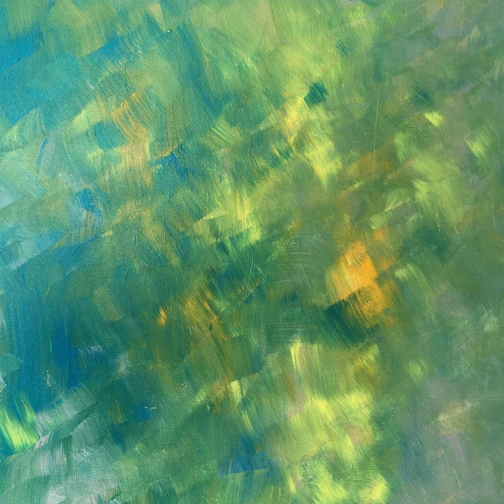 Peinture acrylique sur toile, 70cmx70cm