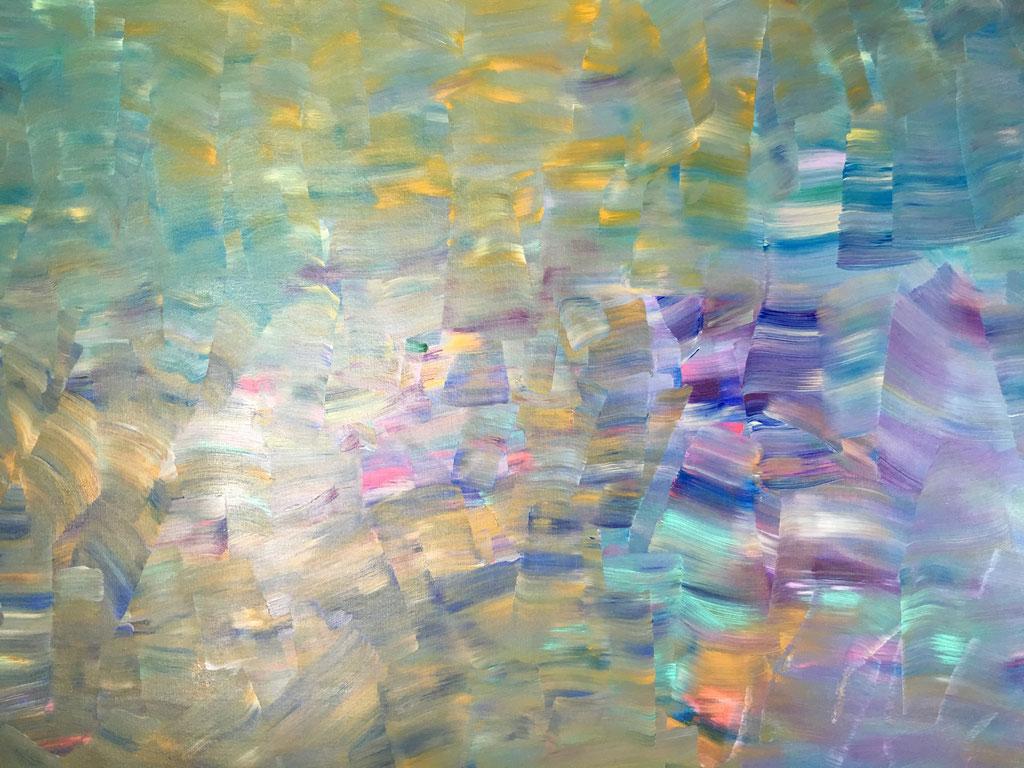 O.T., Acryl auf Leinwand, 189cmx136cm