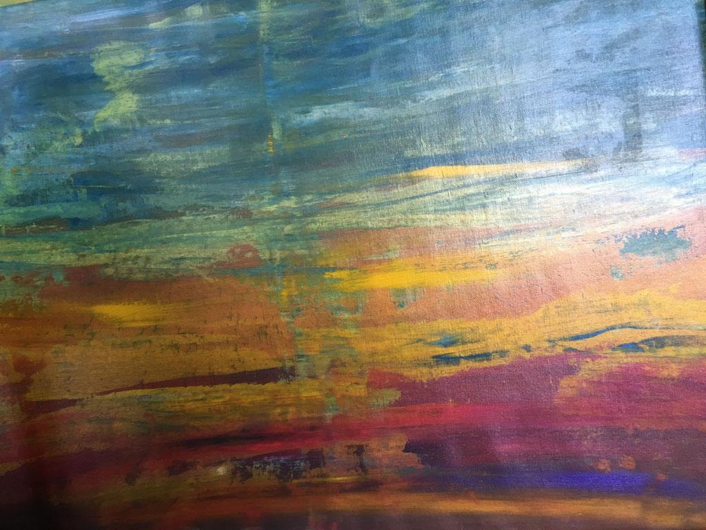O.T., Acryl auf Leinwand, 120cmx91cm