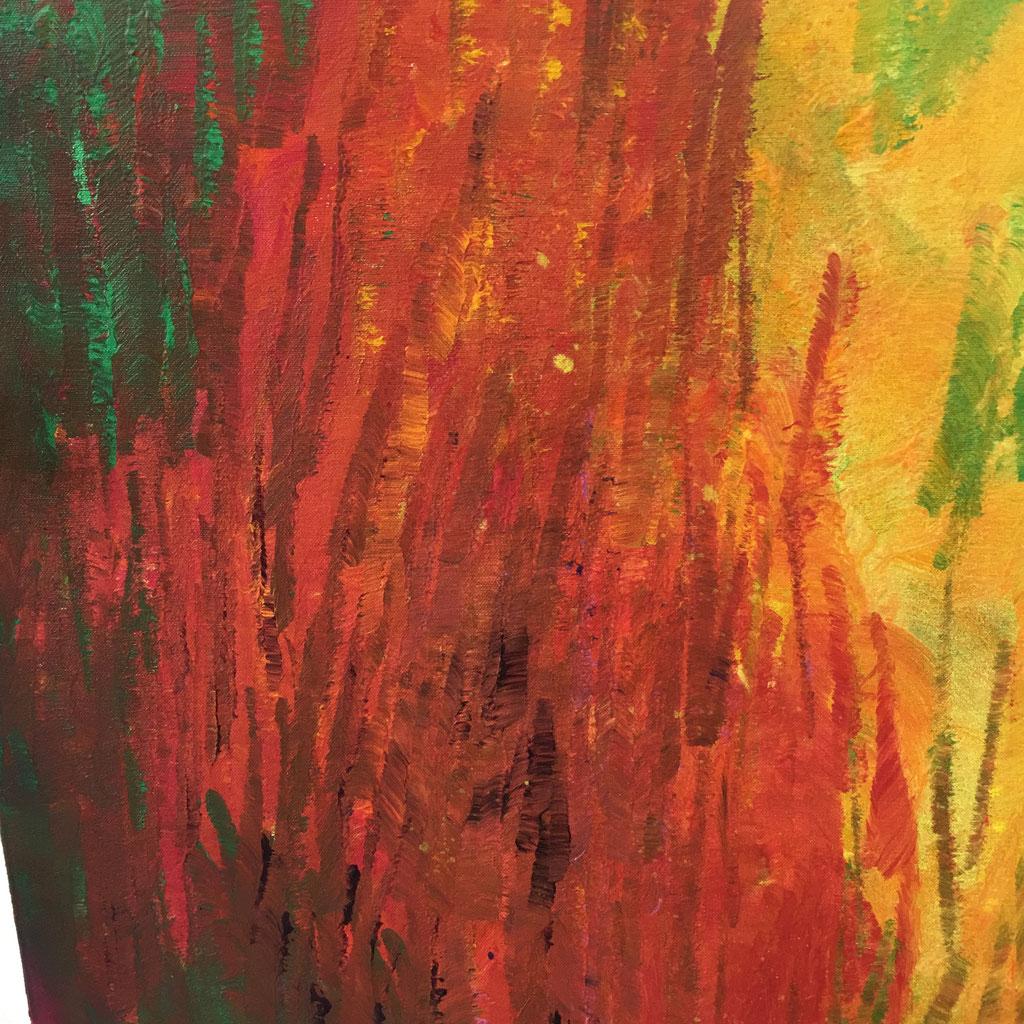 Peinture acrylique sur toile, 50cmx50cm