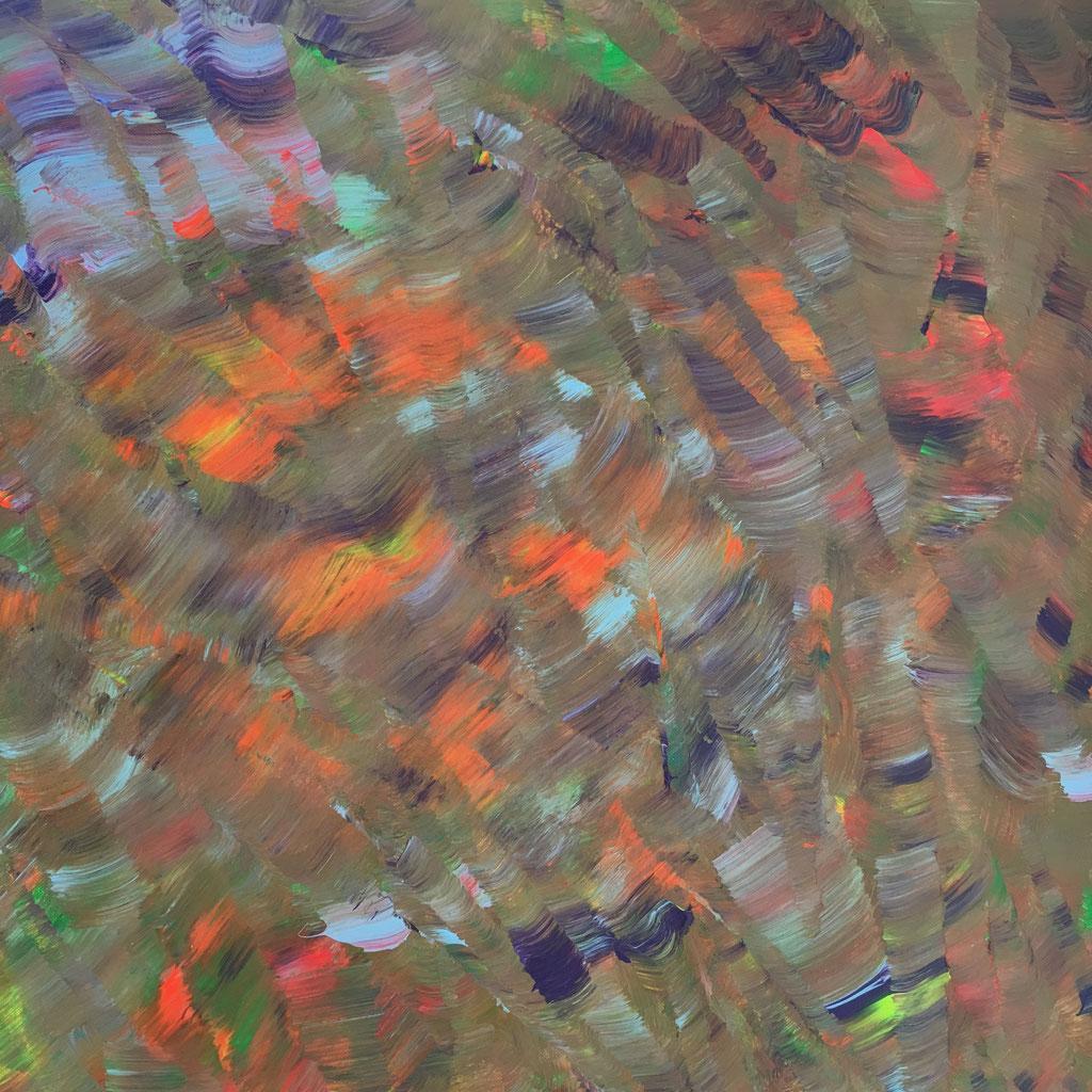 O.T., Acryl auf Leinwand, 60cmx60cm