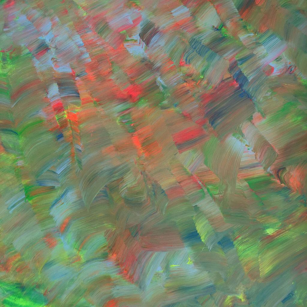 Peinture acrylique sur toile, 60cmx60cm