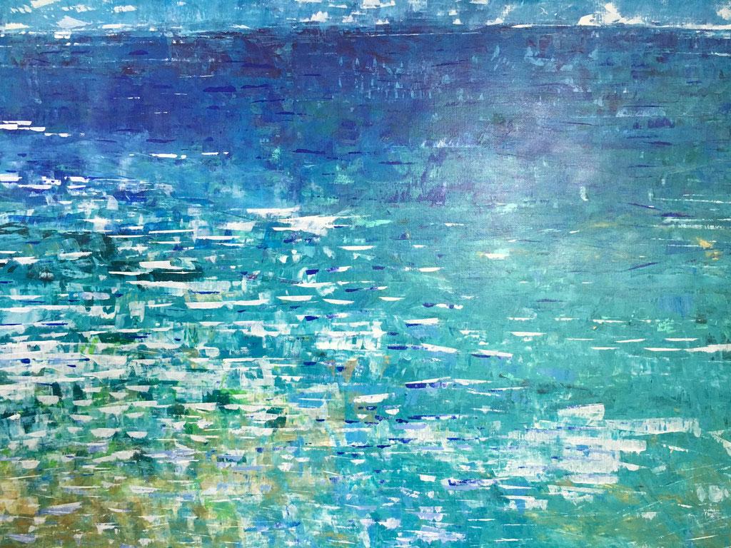 Peinture acrylique sur toile, 189cmx136cm