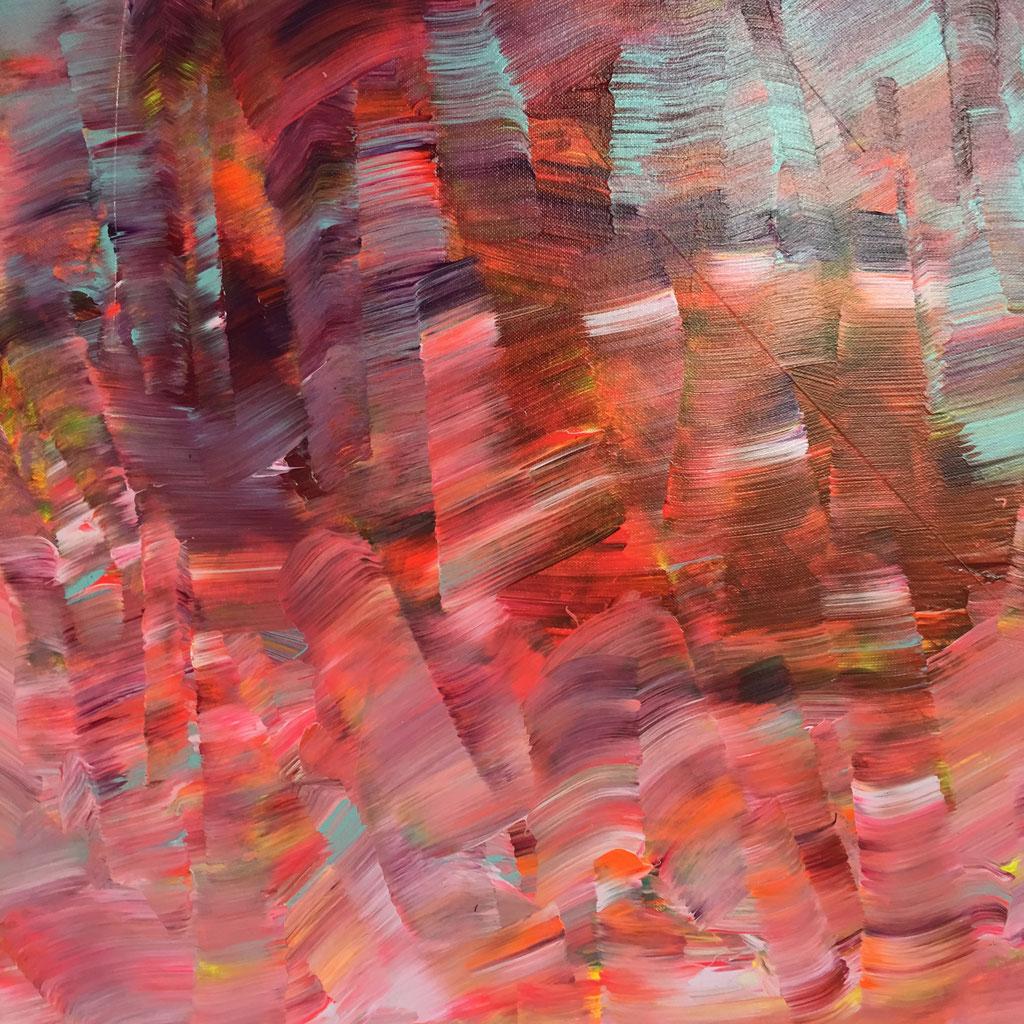 O.T. Acryl auf Leinwand, 60cmx60cm