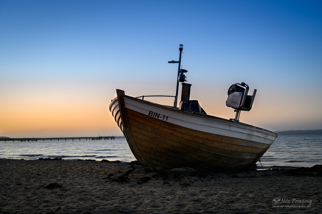 Fischerboot in Binz