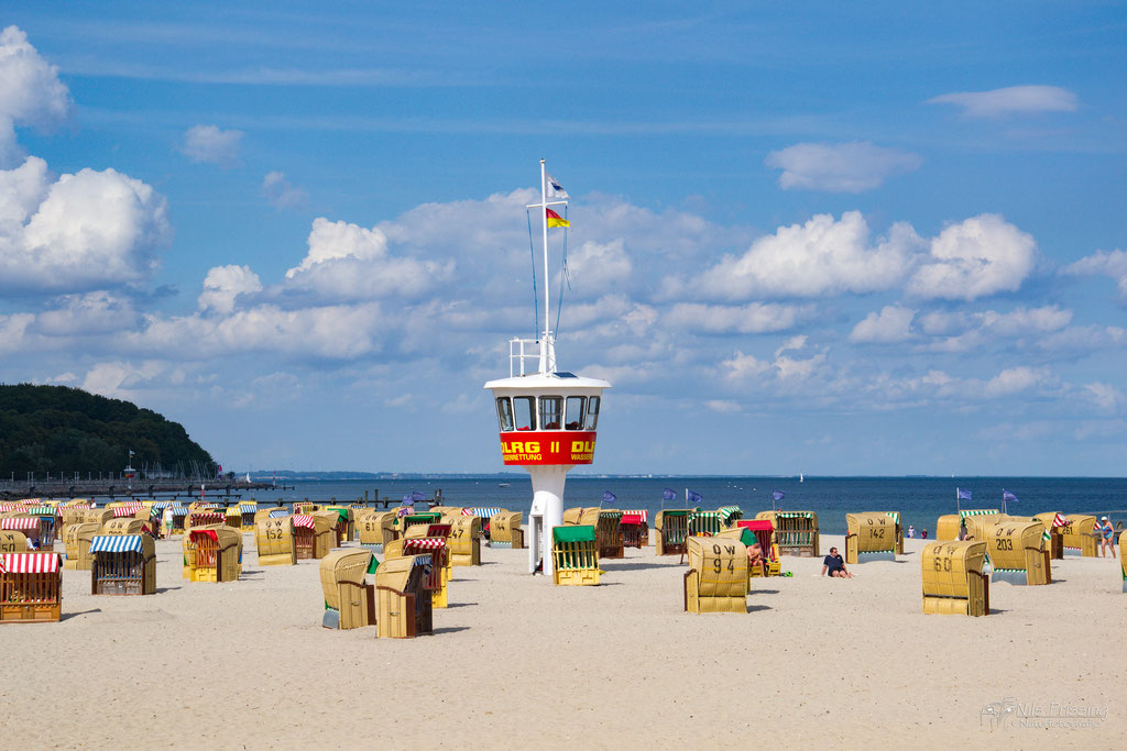 Strand in Travemünde