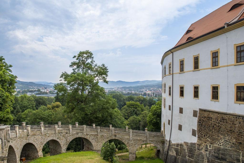 Schloss Tetschen in Decin / CZ