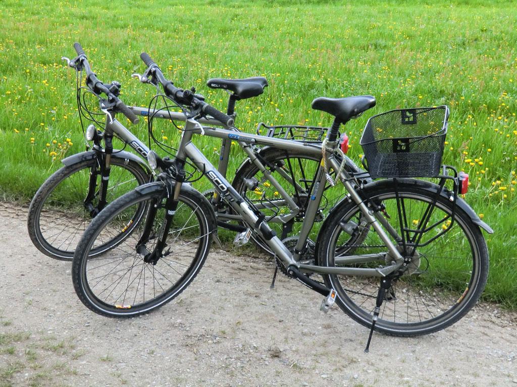 Fahräder für Gäste