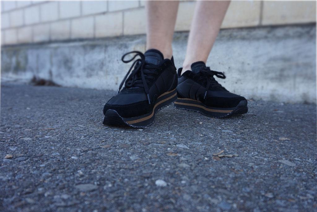 Je dunkler der Schuh desto eleganter der Look.