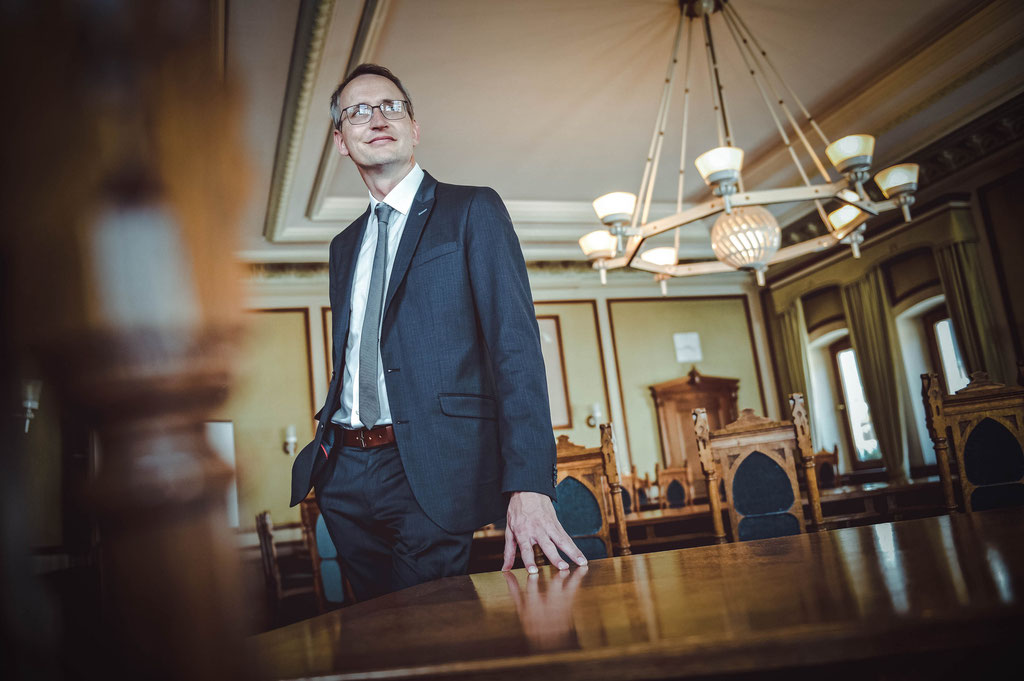 Ulrich Pötzsch - Oberbürgermeister
