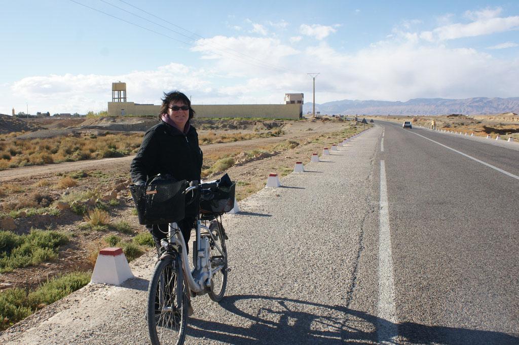 Fahrradspur!
