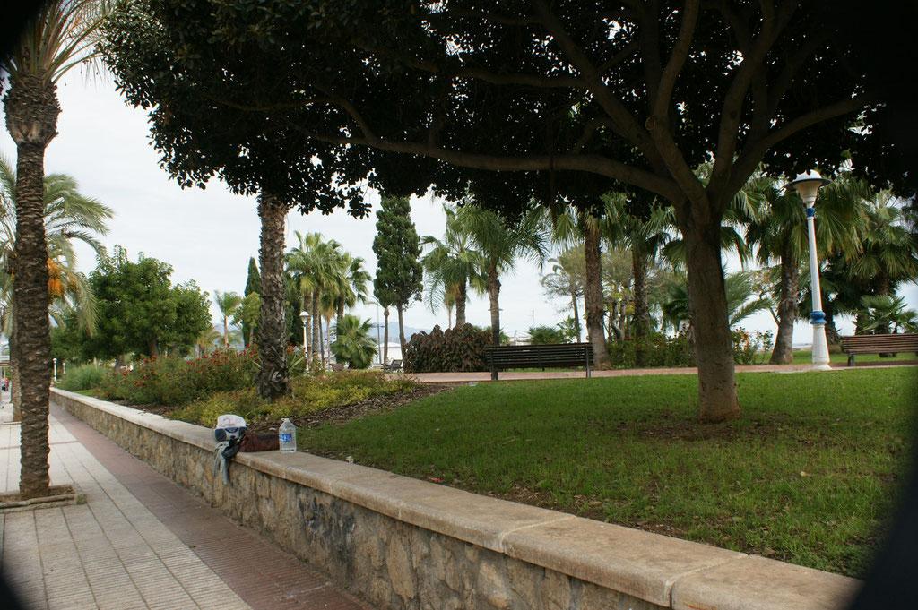 Breite Uferpromenade