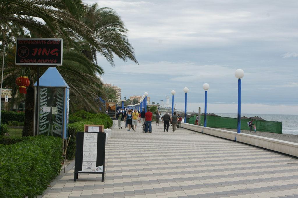 Strandpromenade in Torrex