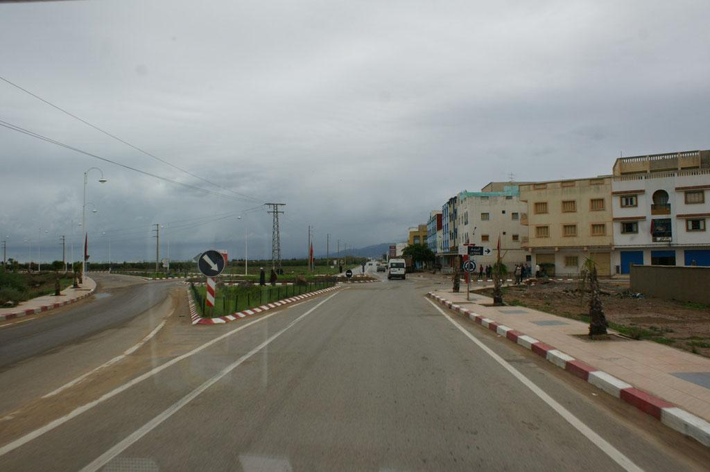Ankunft in Saidia