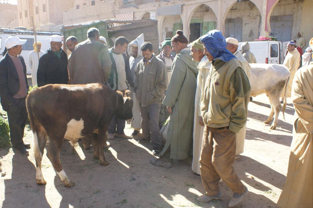 Auch der Viehmarkt darf nicht fehlen