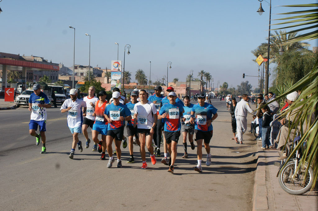 Marathon in Marrakech