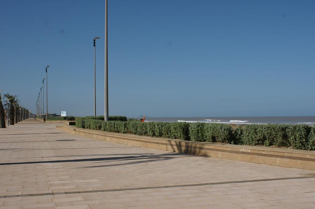 Die Ellenlange Strandpromenade