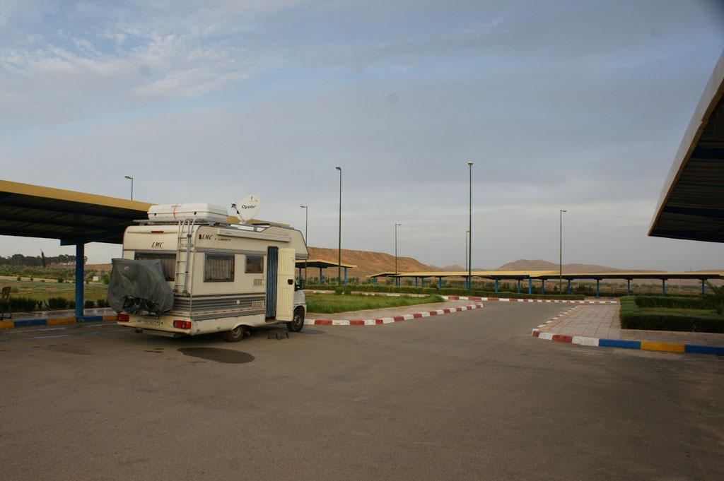 Uebernachtungsplatz bei Tafrout