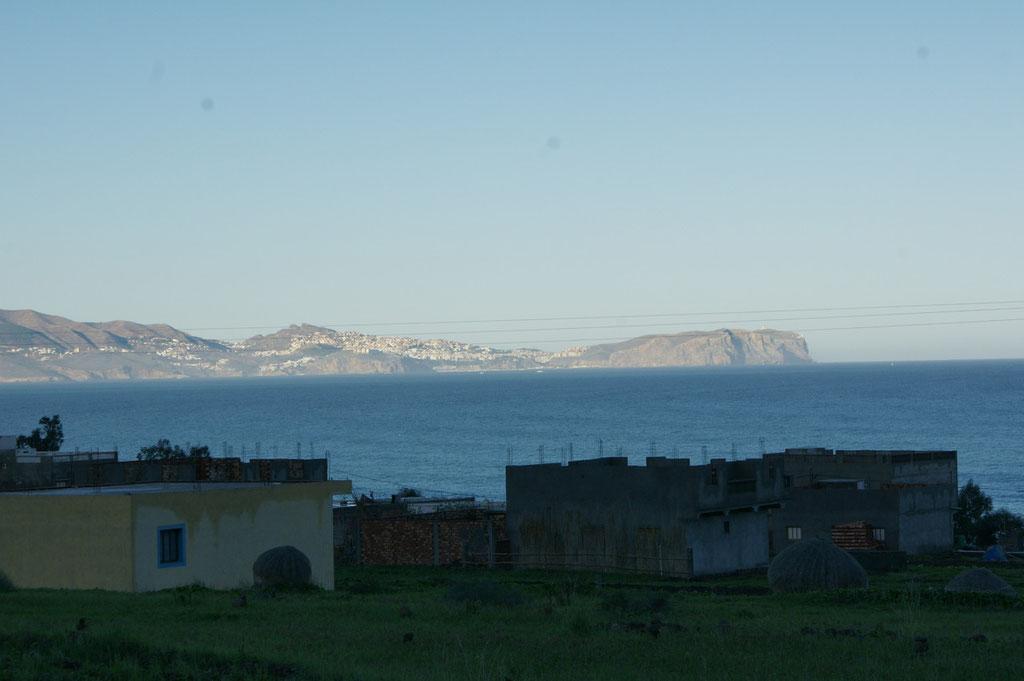 Auch spanische Inseln vor der Küste