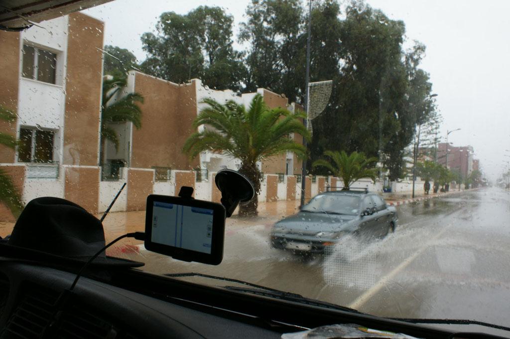 Unser neues Marokkanische Navigationsgerät.