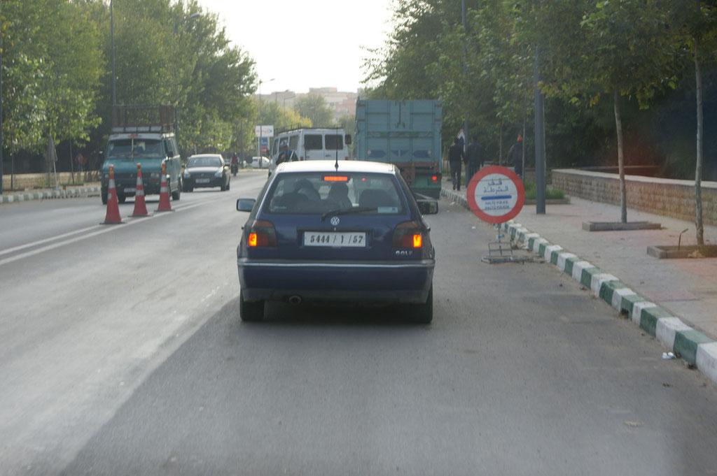 Einfahrt in Taourit.