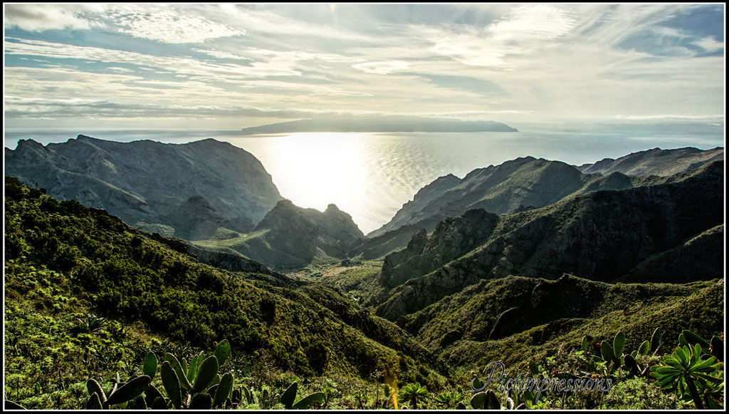 View to La Gomera