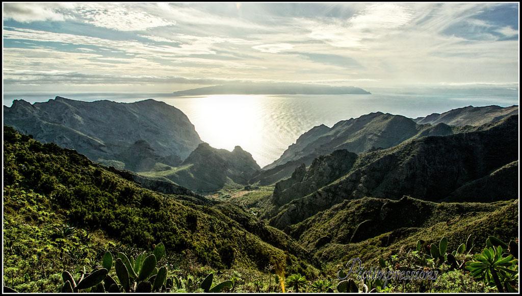 View to La Gomera
