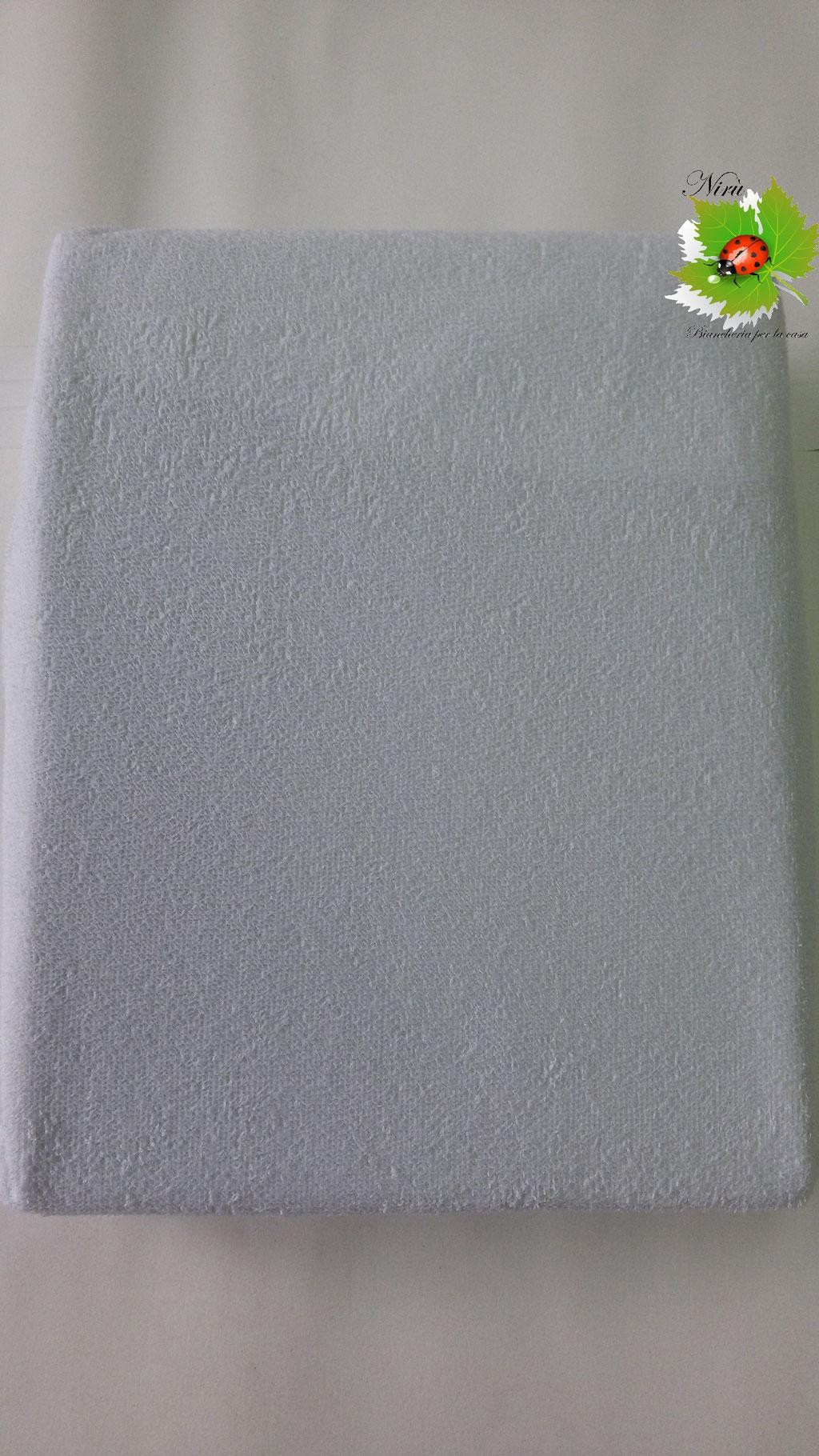 Coprimaterasso sanitario impermeabile Maestri Cotonieri per letto singolo. B144